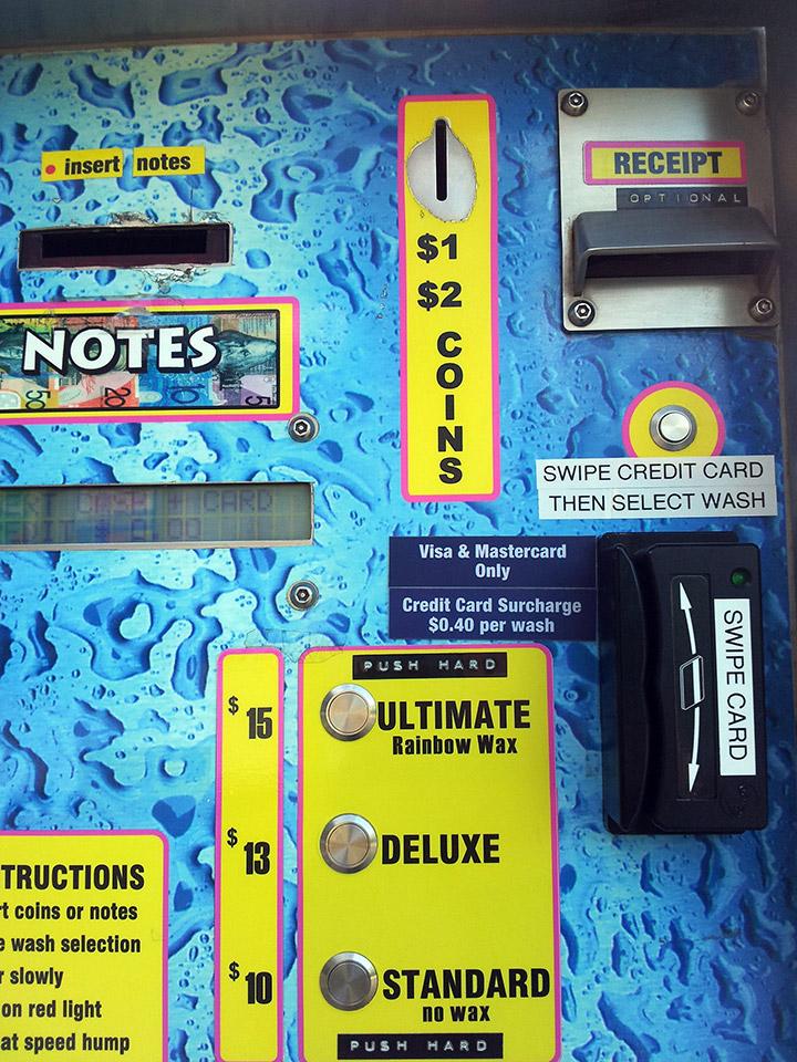 Automatic Car Wash Brisbane City